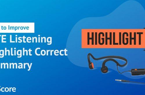 PTE-listening-highlight-correct-summary