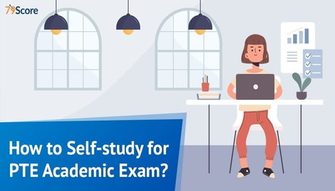 How to self-study for PTE academic exam?