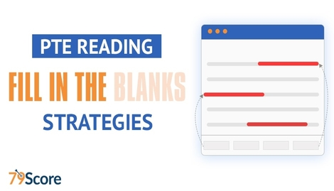 PTE Reading Fill in the Blanks Tips